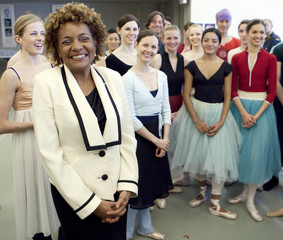 Canada's Governor General Jean smiles during her visit to the National Ballet of Canada in Toronto