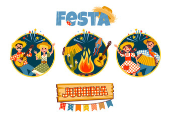 Latin American holiday, the June party of Brazil.
