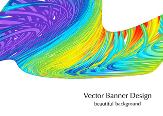 gay rainbow colors background with texture, made in vector