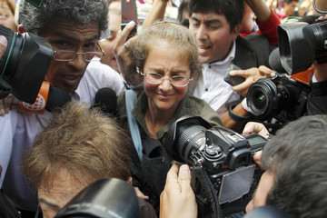 U.S. citizen Berenson arrives home after being released from jail in Lima