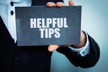 Wall Mural - Helpful tips