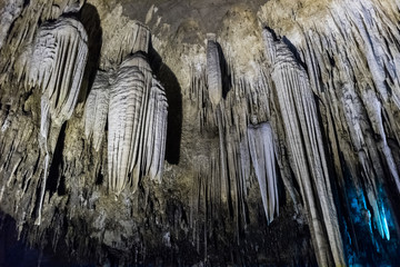 stalactite in cave