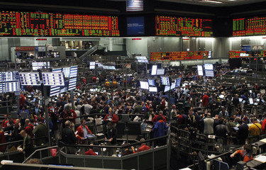 A general view of the trading floor at the Chicago Board of Trade