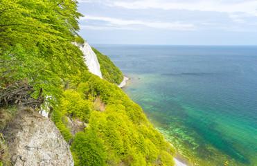 Königsstuhl an der Kreideküste auf Rügen