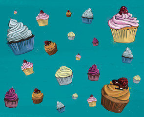 Cup Cake muster
