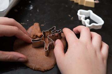 Reindeer Cookie Cutout
