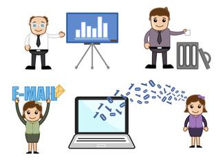 Business Cartoon Vectors