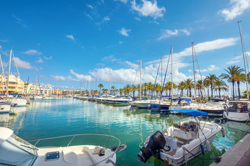 Benalmadena marina. Costa del Sol, Malaga province, Andalusia, Spain