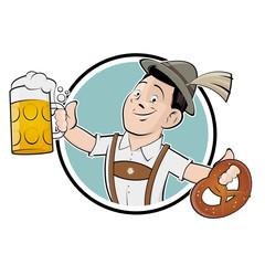 oktoberfest bayern mann zeichen symbol
