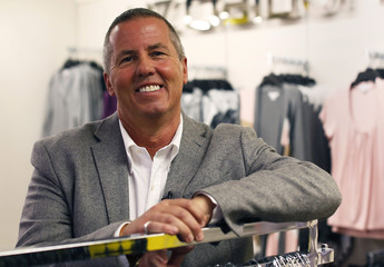 Michael Fisher, J.C. Penney Co Inc's chief creative officer, poses during an interview at their Herald Square department store location in New York
