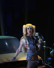 "Neil Patrick Harris and the cast of ""Hedwig and the Angry Inch"" perform during the American Theatre Wing's 68th annual Tony Awards at Radio City Music Hall in New York"