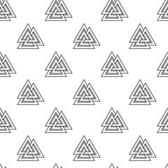 Viking seamless pattern