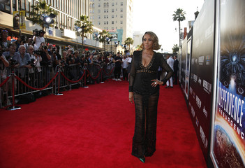 Actress Vivica A. Fox arrives at the premiere of the film Independence Day: Resurgence in Hollywood