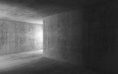 Abstract dark empty concrete interior background