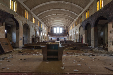 Verlassene Orte Kirche