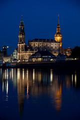 Dresden - Hofkirche und Schloss