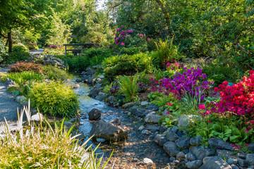 Garden Stream Landscape 2 Wall mural