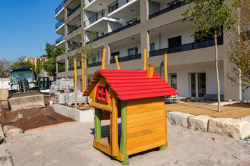 Stadt Kinder Spielplatz