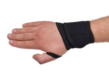 medical abdominal bandage hand post-operative
