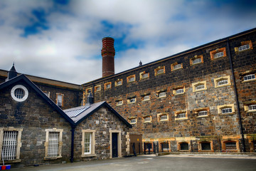 Crumlin Road Jail, Belfast, Northern Ireland