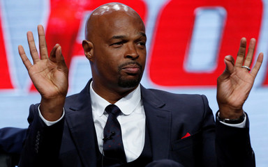 """Cast member Wayans speaks at a panel for the television series """"Lethal Weapon"""" during the TCA FOX Summer Press Tour in Beverly Hills"""