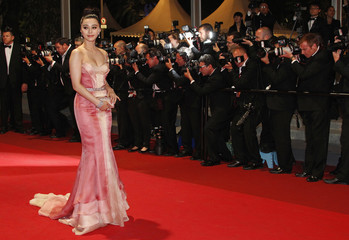 """Actress Fan Bing Bing arrives on the red carpet for the screening of the film """"Wu Xia"""" at the 64th Cannes Film Festival"""
