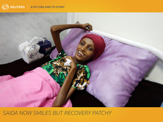 A Picture and Its Story: Saida now smiles but recovery patchy