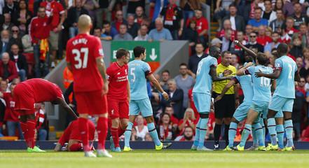 Liverpool v West Ham United - Barclays Premier League