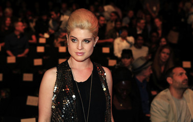 Actress Kelly Osbourne arrives for the presentation of the Anna Sui 2011 Spring/Summer collection during New York Fashion Week