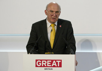 Business Secretary Vince Cable speaks at the Global Investment Conference 2012 in London