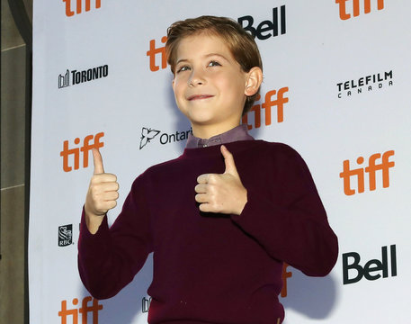 """Actor Jacob Tremblay arrives for the premiere of the film """"Burn Your Maps"""" at TIFF"""