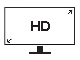 LCD TV screen resolution for HD, HIGH DEFINITION