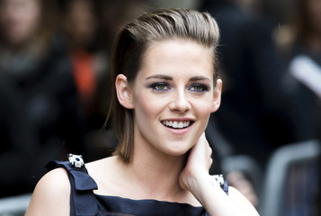 """Stewart arrives on the red carpet for the film """"Equals"""" during the Toronto International Film Festival in Toronto"""