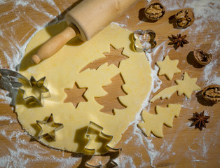 Printed kitchen splashbacks Fairytale World cookies for christmas
