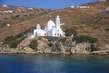 Eglise Sainte Irène à Ios