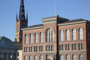 Buildings on Riddarholmen Island, Stockholm