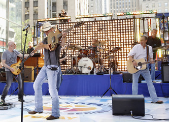 Singer Chesney performs on NBC's 'Today' show in New York