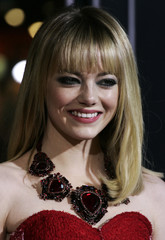 """Actress Stone arrives at Warner Bros. Pictures' """"Gangster Squad"""" premiere in Hollywood"""