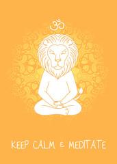 Meditative Animals series