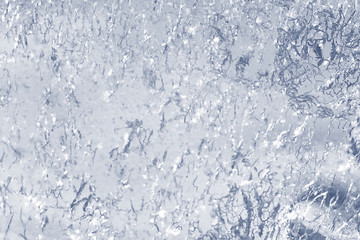 transparent ice background