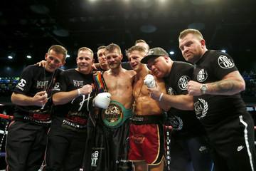 John Wayne Hibbert v Tommy Martin Commonwealth & WBC International Super-Lightweight Title's