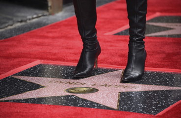 "Cyndi Lauper receives star on the ""Hollywood Walk of Fame"" in Los Angeles"