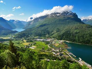 Travelling in Norway Loen, Nordfjord - Loen Skylift