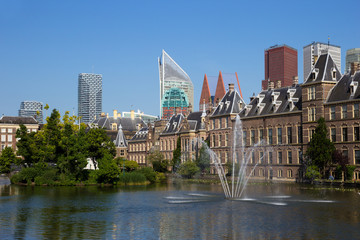 Dutch parliament building in The Hague. Netherlands