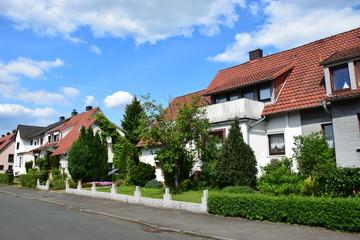 Siedlerhäuser der Nachkriegszeit