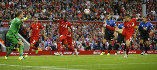 Liverpool v AFC Bournemouth - Barclays Premier League