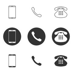 Icons for theme phone