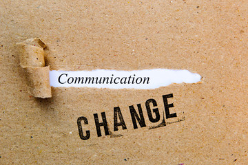 Change - Communication - successful strategies for change