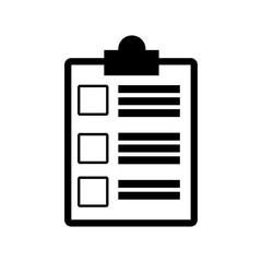 clipboard check document paper image vector illustration