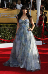"""Actress Zuleikah Robinson of the television drama """"Homeland"""" arrives at the 19th annual Screen Actors Guild Awards in Los Angeles"""